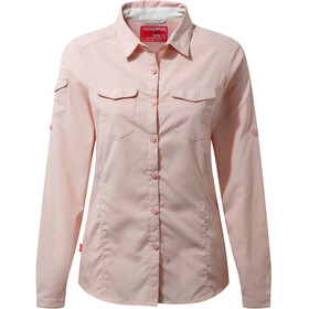 Craghoppers NosiLife Adventure Longsleeve Shirt Women pink